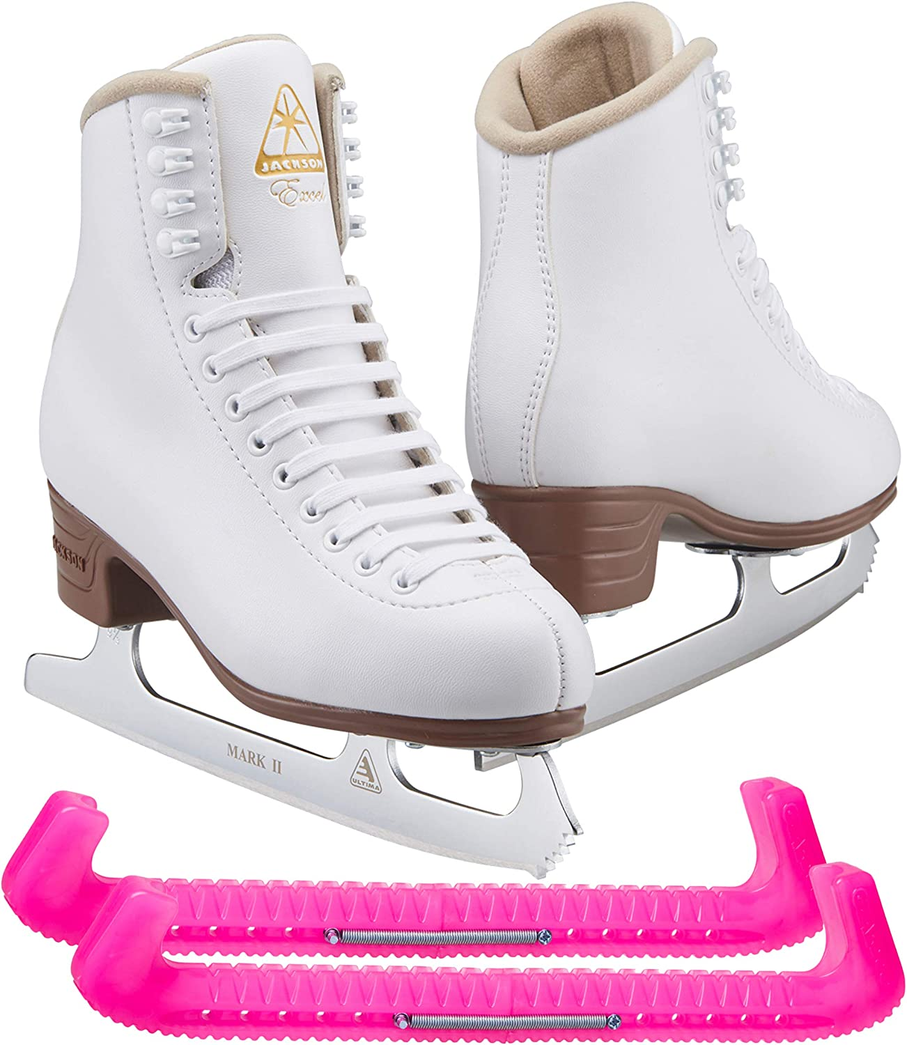 Spring new work one after another Jackson Ultima Excel White Figure Ice Women Skates Online limited product for and Girls
