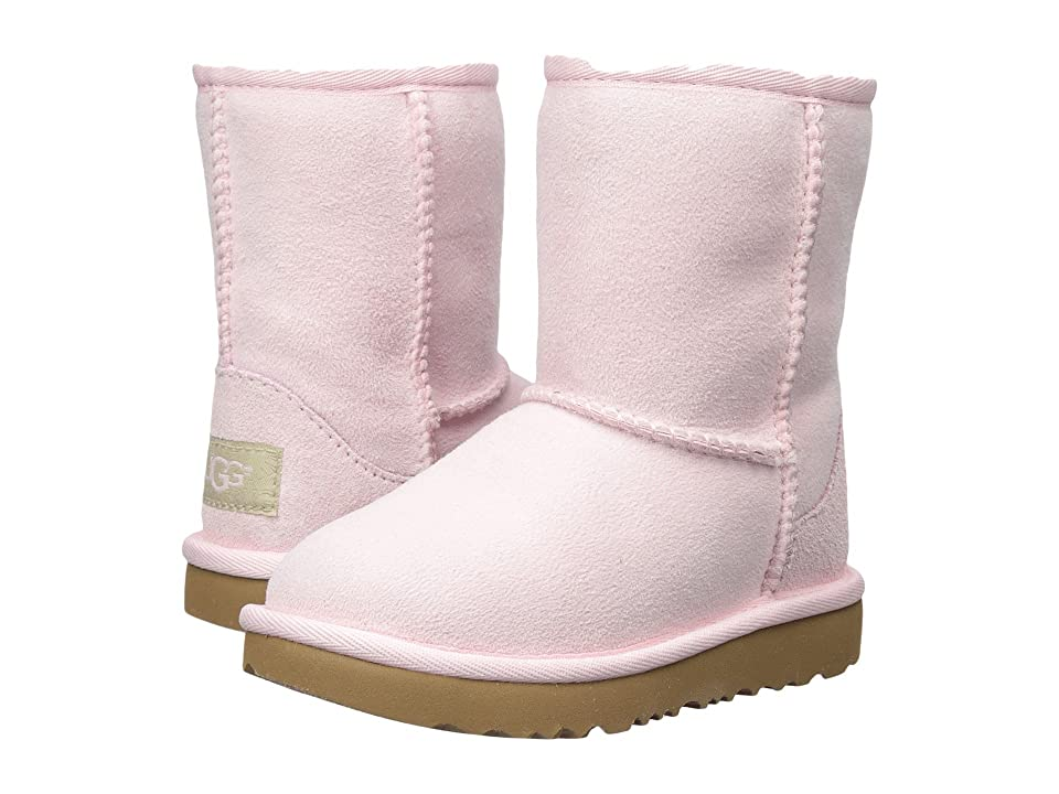 UGG Kids Classic II (Toddler/Little Kid) (Seashell Pink) Girls Shoes