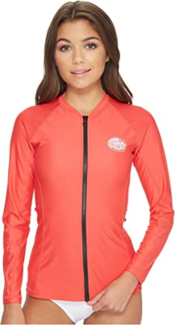 Rip Curl Belle Zip-Through Long Sleeve UV Tee
