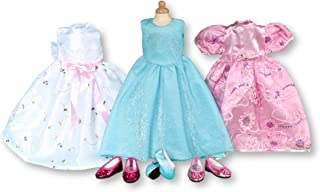 Treasured Dolls 6 pc Value Party Holiday Dress Set for American Girl