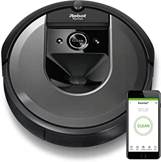 iRobot Roomba I7158 Wifi Connected Robot Vacuum With Power-Lifting Suction And Dual Multi-Surface Rubber Brushes - Learns,...
