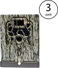 Browning Trail Camera Security Box 3-Pack: Prevents Theft and Bear Damage