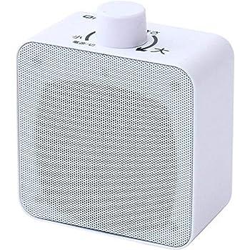 山善 キュリオム ワイヤレス 手元スピーカー (AC電源/乾電池 対応) 防水 防塵YWTS-800W