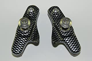 KINGSTOP JIM 2 Pairs of Road Bicycle Caliper Pad Set Brake Pads Set for Shimano Sram Avid Tektro Caliper for Carbon Rim use