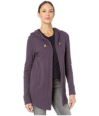 tentree Ivy Cardigan (Aubergine Purple) Women