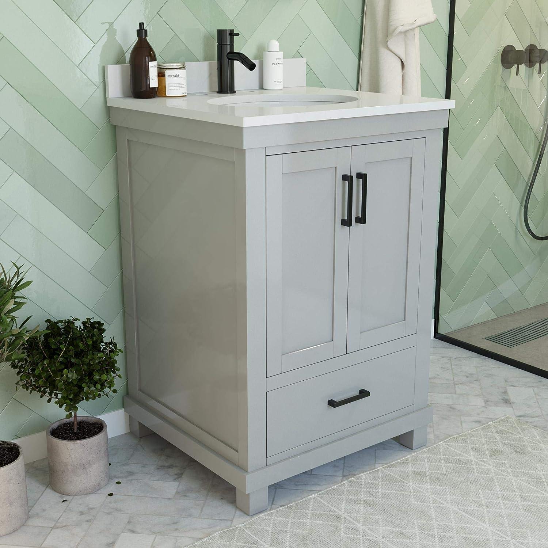 Buy Dorel Living Sunnybrooke 24 Inch Gray Bathroom Vanity 24 Online In Turkey B082x1vhql