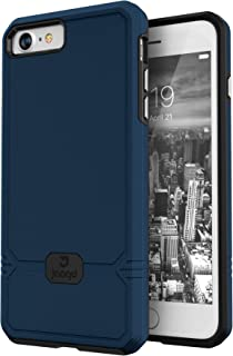 Jaagd iPhone 8 Case, iPhone 7 Case, Slim Shock-Absorbing Modern Slim Non-Slip Grip Cell Phone Cases for Apple iPhone 8/7 (Navy)