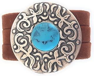 Amazon.es: pulsera mujer cuero