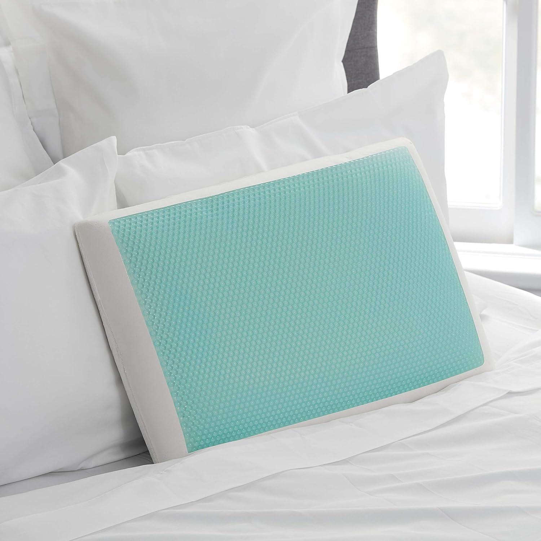 期間限定特価品 Sealy Essentials 新品■送料無料■ Memory Foam Gel White Pillows Cooling Standard