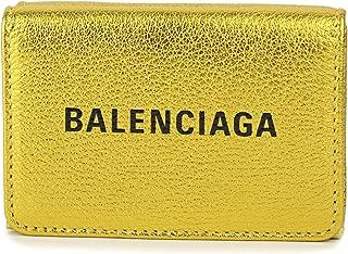 バレンシアガ(BALENCIAGA) 3つ折り財布 551921 00R1N 8060 エブリデイ ゴールド 金 [並行輸入品]