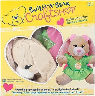 Colorbok Build A Bear Kit Tan Swirl Bunny Fairy