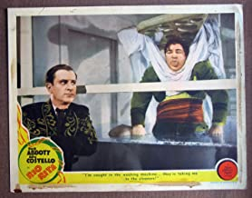 CR40 Rio Rita BUD ABBOTT/LOU COSTELLO 1942 Lobby Card. This is an original lobby card; not a dvd or video. Lobby cards were used to advertise film playing at theater and they measure 11 by 14 inches.