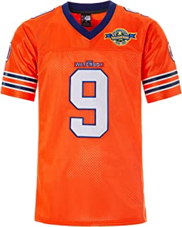 MOLPE Men's Boucher Water boy Football Jersey M-XXXL Orange,  90S Hip Hop Clothing for Party,  Stitched Letters and Numbers