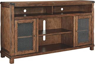 Ashley Furniture Signature Design - Tamonie Large TV Stand - Rustic Brown