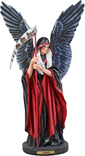 Ebros Large Ruth Thompson Archangel Azriel Angel of Death and Change Holding Reaper Scythe Statue 17.25