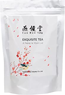 Yan Hou Tang - 50 Teabags Organic Peach OolongTea Bags Full loose Spice leaf Flesh Fruit and Flower