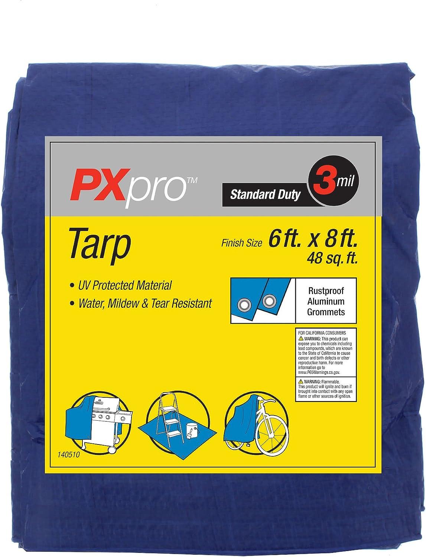 PXPRO Standard Duty Tarp 6 x 8