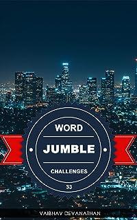 Word Jumble Challenges - 33 (English Edition)