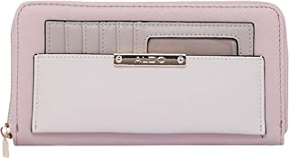 Aldo Accessories Women's Setterlund Wallet, One Size, Pink