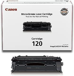 Canon Genuine Toner, Cartridge 120 Black (2617B001), 1 Pack, for Canon imageCLASS D1120, D1150, D1170, D1180, D1320, D1350, D1370, D1520, D1550 Laser Printers