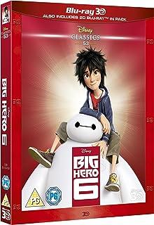 Disney's Big Hero 6   3D Blu-ray + Blu-ray   Arabic & English