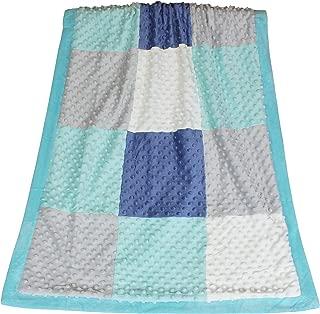 mosaic baby blanket