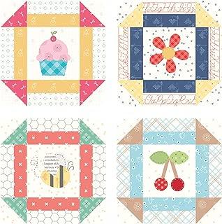 Bee Happy Coaster Set 4 pieces by Lori Holt