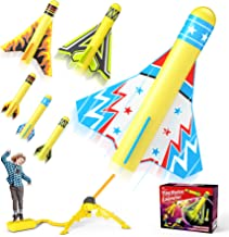 Jasonwell Toy Rocket Launcher for Kids Sturdy Stomp Launch Toys Fun Outdoor Toy for Kids Gift for Boys and Girls Age 5 6 7...