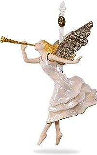 Hallmark Keepsake 2017 Angel of Winter Wonder Premium Porcelain Christmas Ornament