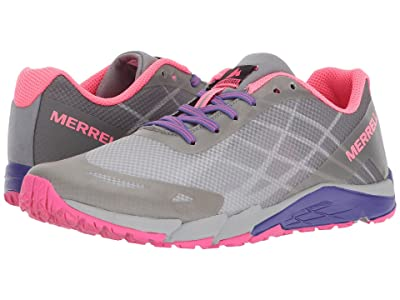 Merrell Kids Bare Access (Big Kid) (Grey/Multi) Girls Shoes