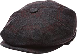 018024cd0c7 Epoch Men s Classic 8 Panel Wool Blend newsboy Snap Brim Collection Hat