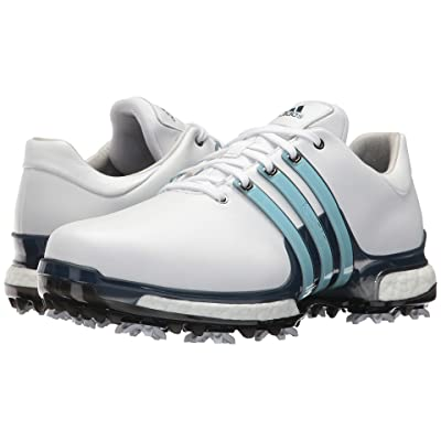 adidas Golf Tour360 2.0 (Footwear White/Icey Blue/Mystery Ink) Men