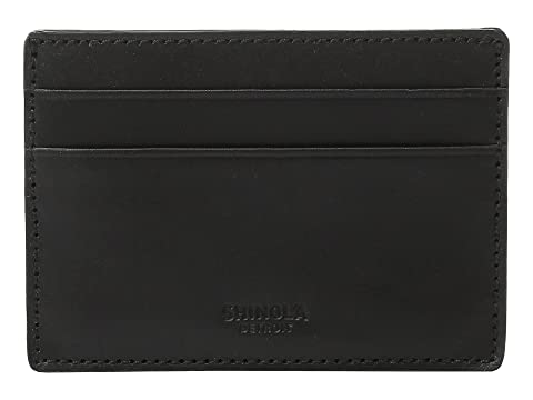 Get To Buy Sale Online Shinola Detroit Six-Pocket Card Case Black Sale New Arrival Discount Manchester Low Cost Cheap Price Official Site yyXFwcrmx