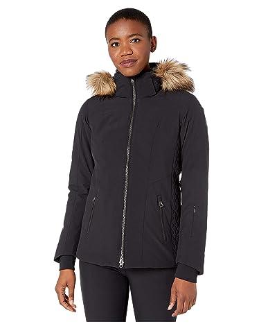 Obermeyer Siren Jacket w/ Faux Fur (Black) Women
