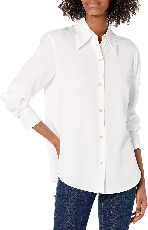 Vince Women's Shaped Collar Shirt