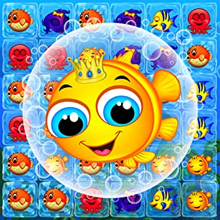 Fish Mania - travel in underwater world of match-3 fun with fishdom link connect, new free puzzle game!