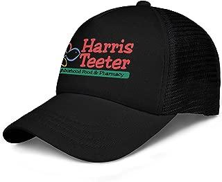 LHSPOSIFD Unisex Mens Baseball Hat Cotton Adjustable Mesh Visor Harris-Teeter-Logo-Symbl-Flat Caps