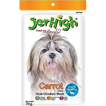 JerHigh Carrot Stix Dog Treats, 70 g