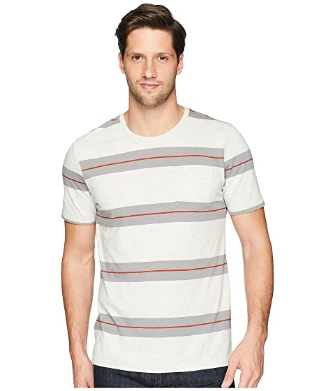 CAPTAIN FIN Zeuss Short Sleeve Knit, Natural