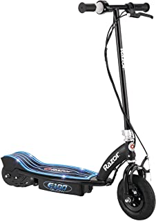 "Razor E100 Glow Electric Scooter for Kids Age 8 and Up, LED Light-Up Deck, 8"".."
