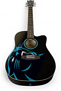 Woodrow Guitar by The Sports Vault NFL Acoustic Guitar
