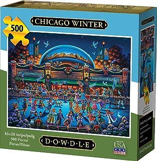 Dowdle Jigsaw Puzzle - Chicago Winter - 500 Piece