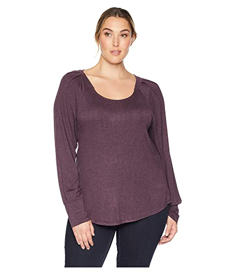 B Collection By Bobeau Tops , PLUM PERFECT