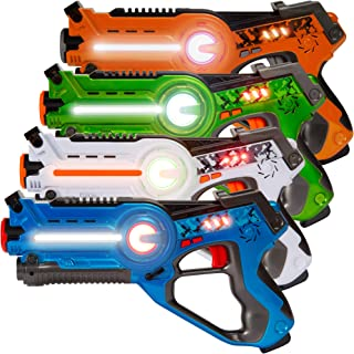 Best Best Choice Products Set of 4 Infrared Laser Tag Set for Kids & Adults w/ Multiplayer Mode Review