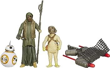 Star Wars The Force Awakens 3.75-Inch Figure 3-Pack Desert Mission BB-8, Unkar's Thug, and Jakku Scavenger