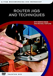 Router Jigs and Techniques (Fine Woodworking DVD Workshop)
