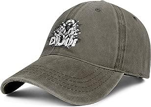 Men's,Women's Low Profile Washed Distressed Snapback Hat Unique Sport Twill Denim Hat