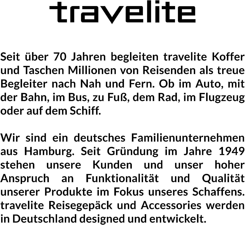 """und Sporttaschen /""""Kick Off/"""" Von travelite in 3 Farben Danthrazit Travelite Reise Robust und auch Zum Ziehen Bolsa de Viaje 50 Centimeters 45 Gris praktisch"""