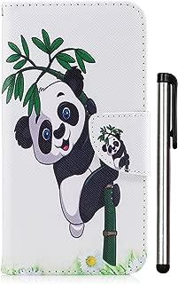LG Aristo Case,LG LV3 Case, LG Phoenix 3 Case, LG K8 2017 Case, LG Fortune Case, LG Risio 2 Case, LG Rebel 2 LTE Case, PU Leather Stand Wallet Credit Card Cash Slot Magnetic Panda Bamboo Not Fit 2016