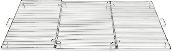 """Patisse Foldable Cooling Rack All Stainless Steel Open Size 12-5/8"""" x 18-1/8"""" or 32 cm x 46 cm item 01323"""